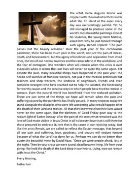 Easter Reflection 2021