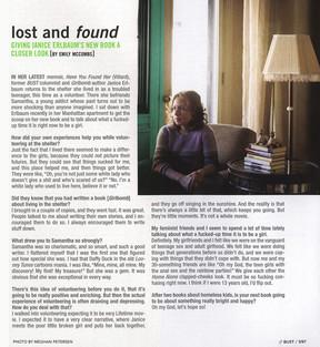 BUST Magazine, 2008