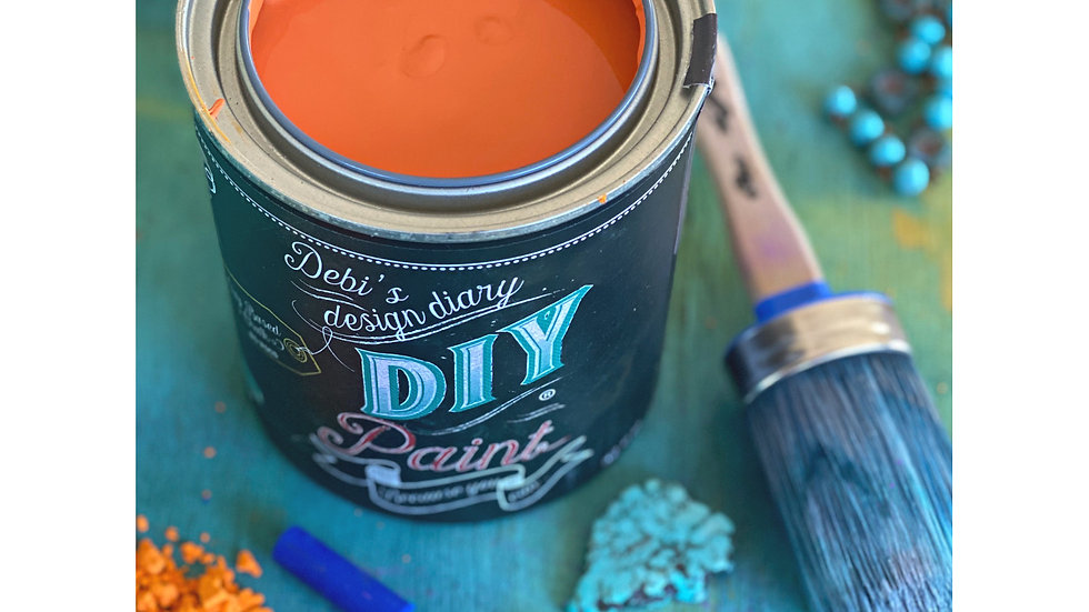 Debi's DIY Paint - pint - Fire Starter