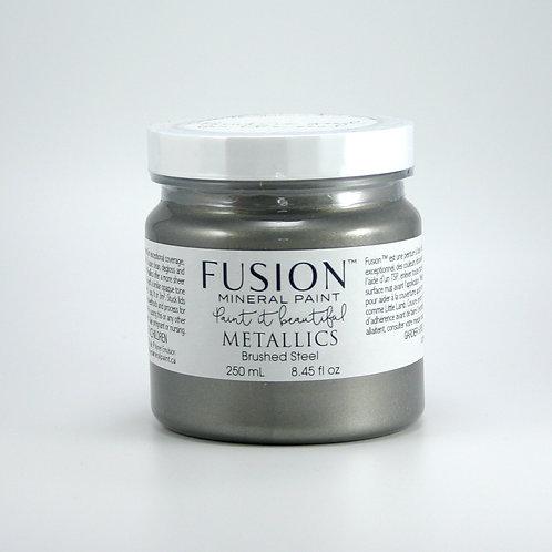 Fusion Metallics - 250ml - Brushed Steel