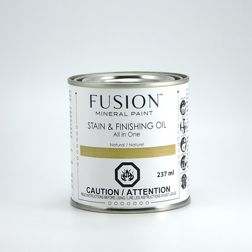 Fusion Stain and Finishing Oil - Natural - 237ml