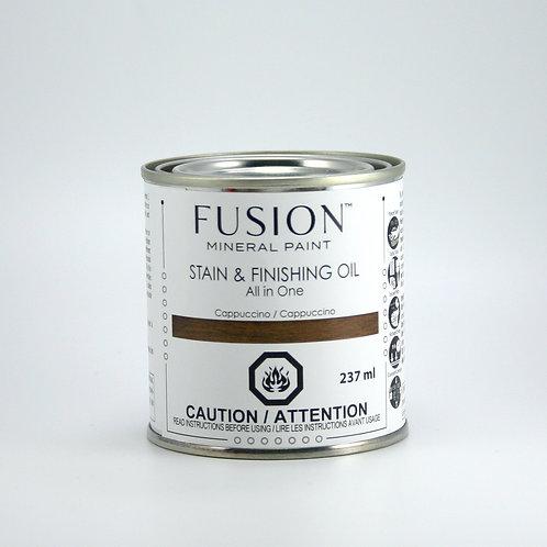 Fusion Stain and Finishing Oil - SFO - Cappuccino - 237ml
