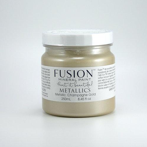 Fusion Metallics - 250ml - Champagne Gold