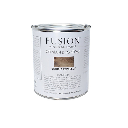 Fusion Gel Stain & Topcoat - 946ml - Double Espresso