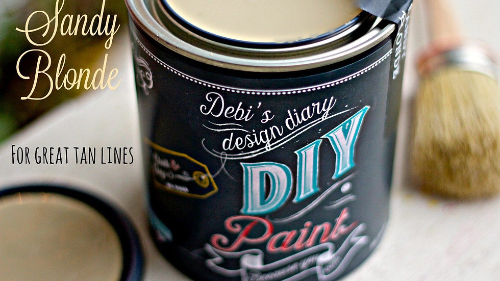 Debi's DIY Paint - 8oz - Sandy Blonde