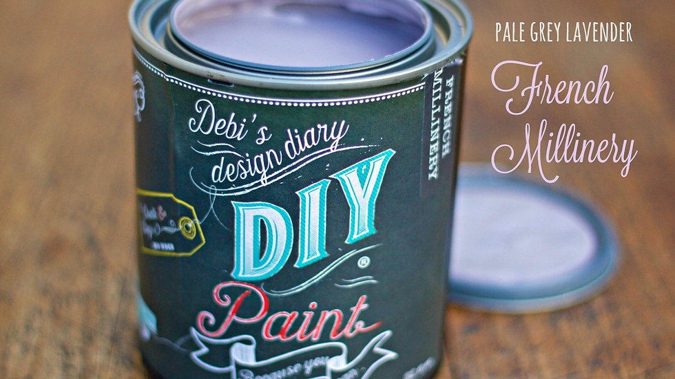Debi's DIY Paint - 8oz - French Millinery