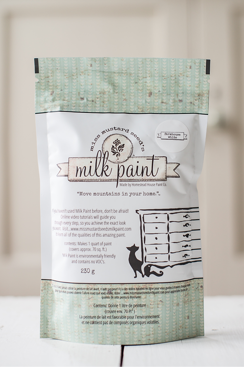 MMS Milk Paint - Farmhouse White