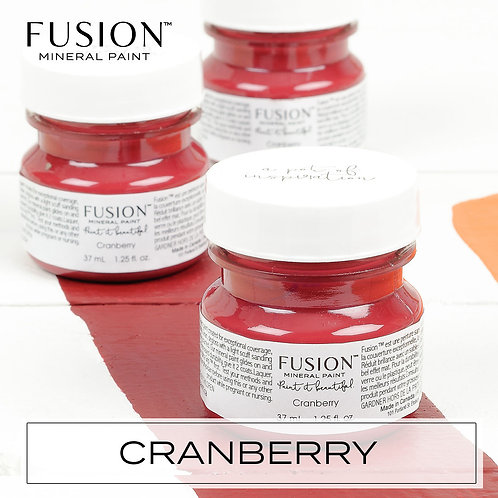 Fusion Mineral Paint - 37ml - Cranberry