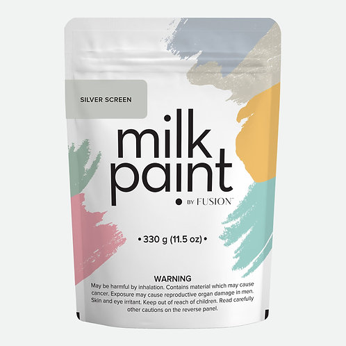 Milk Paint by Fusion - 330g bag - Silver Screen