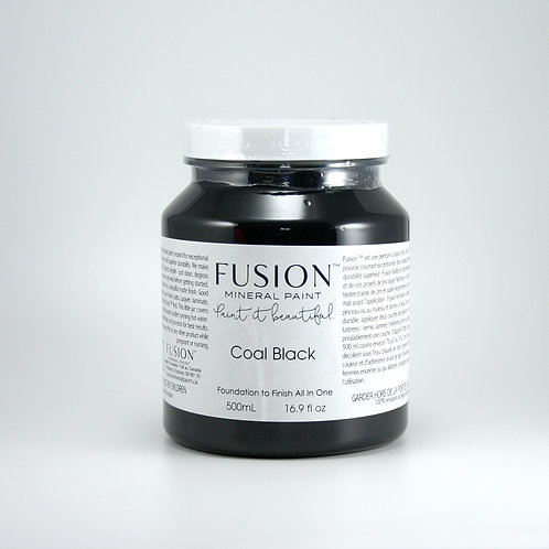 Fusion Mineral Paint - 500ml - Coal Black