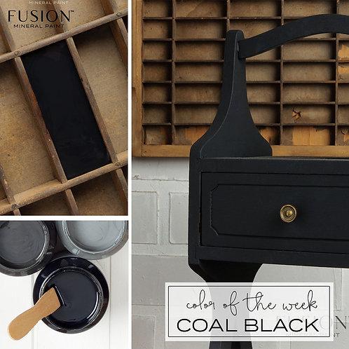 Fusion Mineral Paint - 37ml - Coal Black