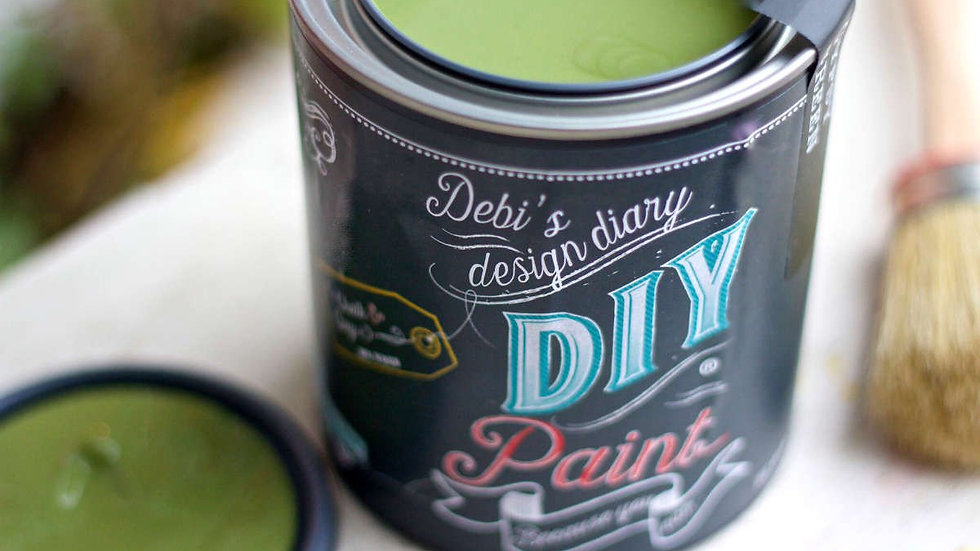 Debi's DIY Paint - pint - Gypsy Green
