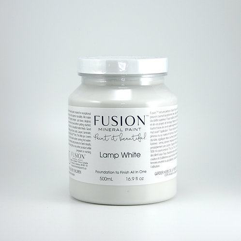 Fusion Mineral Paint - 500ml - Lamp White
