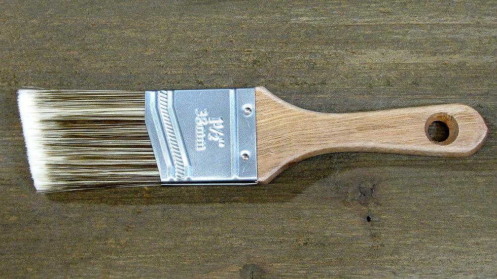 ChalkPro Plush Shorty Angled Paint Brush- 1.5 inch