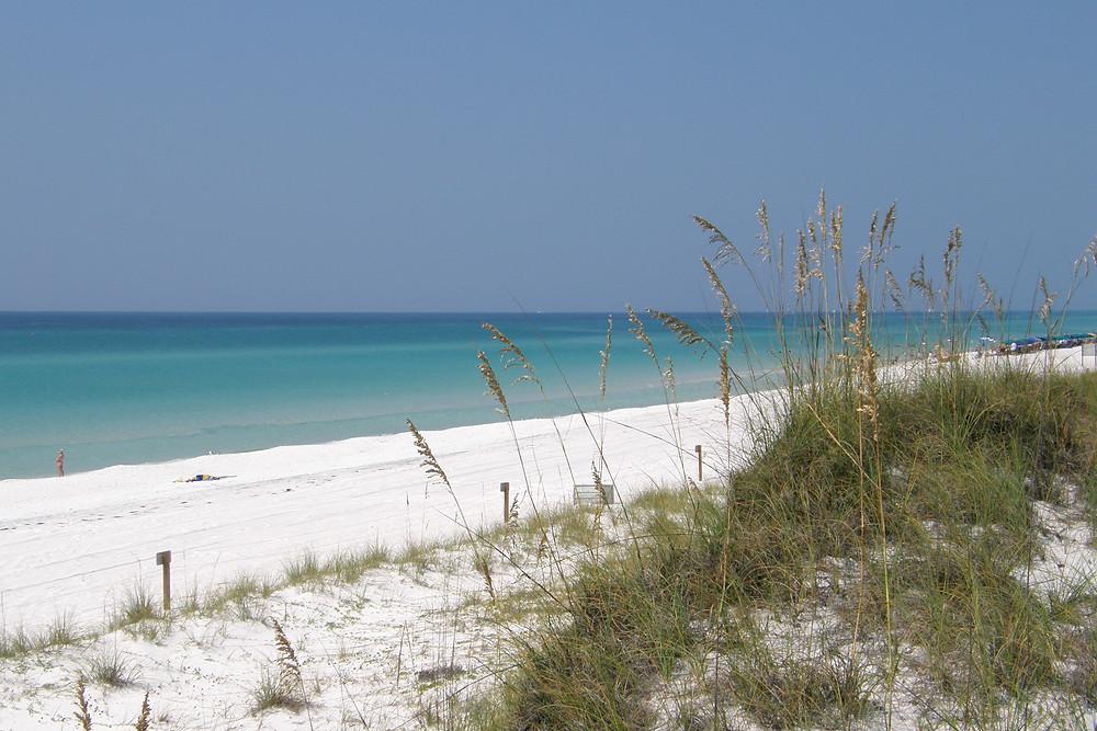 The beach at Destin, FL
