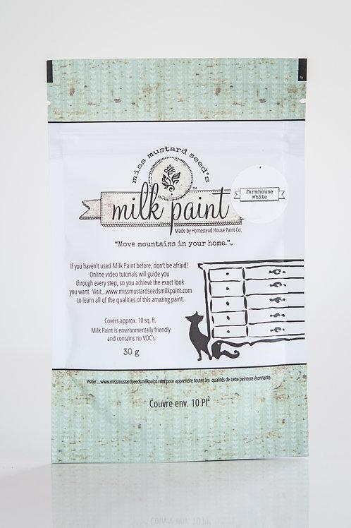 MMS Farmhouse White 30g sample