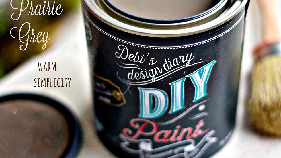 Debi's DIY Paint - pint - Prairie Grey