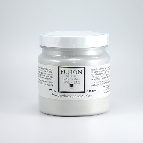 Fusion Smooth Embossing Paste - Pearl - 250ml