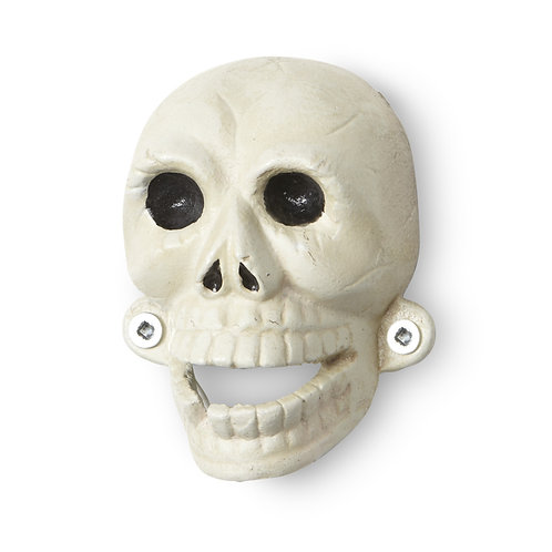 Skull Wall Bottle Opener - I183WHT