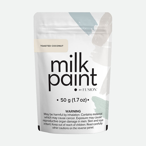Milk Paint by Fusion - 50g sample - Toasted Coconut