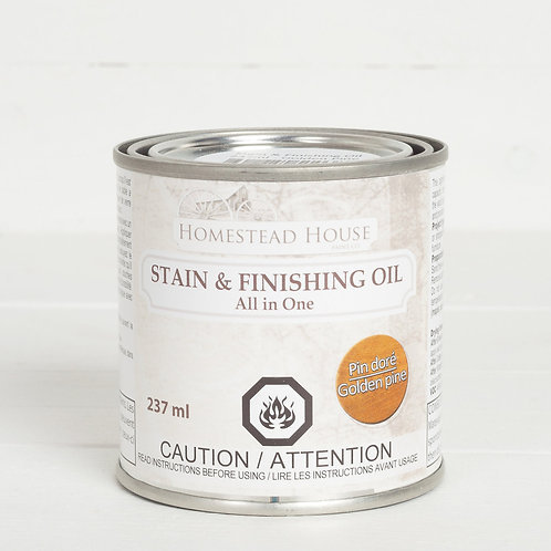 Fusion Stain and Finishing Oil - Golden Pine - 237ml