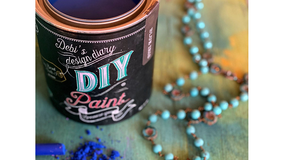 Debi's DIY Paint - pint - Blue Iris