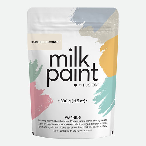 Milk Paint by Fusion - 330g bag - Toasted Coconut