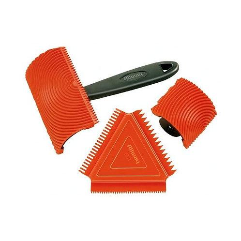 Wood Graining Tools - set of 3