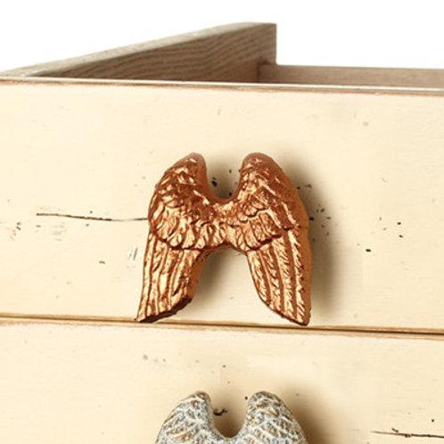 Copper Angel Wing Knob - 131370COP
