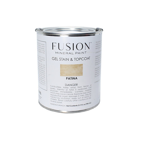 Fusion Gel Stain & Topcoat - 946ml - Patina