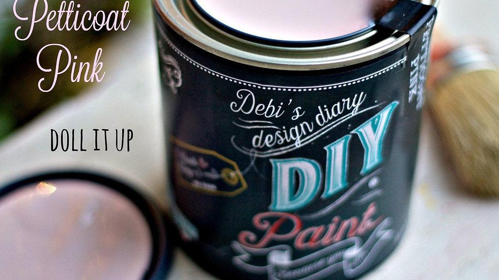Debi's DIY Paint - 8oz - Petticoat Pink