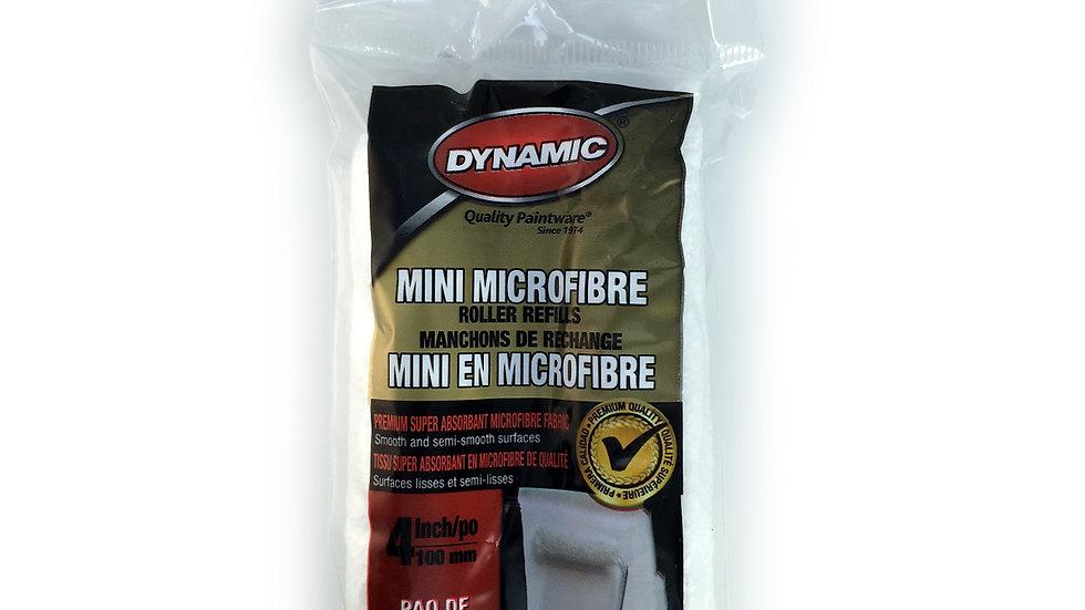 Microfiber Mini Roller refills - 4 inch