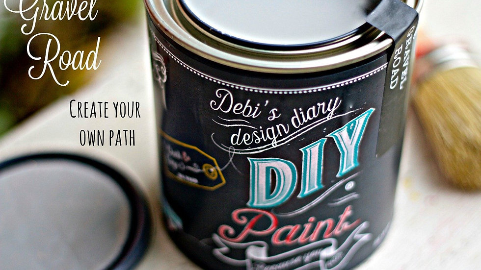 Debi's DIY Paint - 8oz - Gravel Road