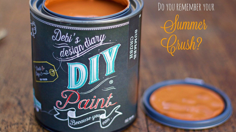 Debi's DIY Paint - quart - Summer Crush