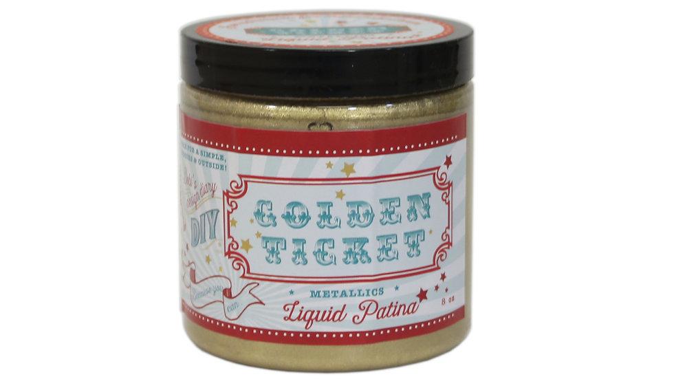 Debi's DIY Liquid Patina - Golden Ticket - 8oz