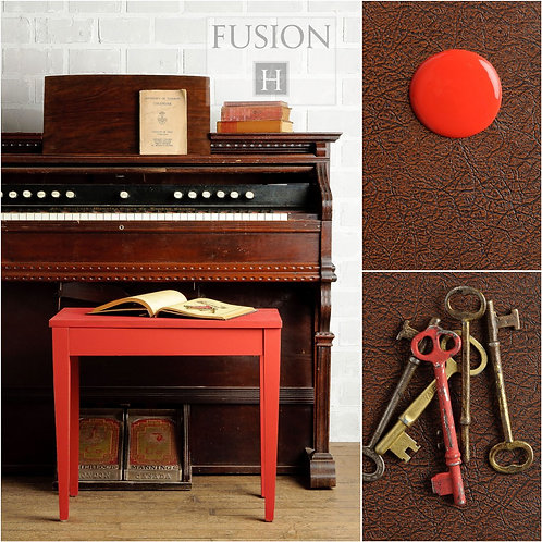 Fusion Mineral Paint - 37ml - Fort York Red