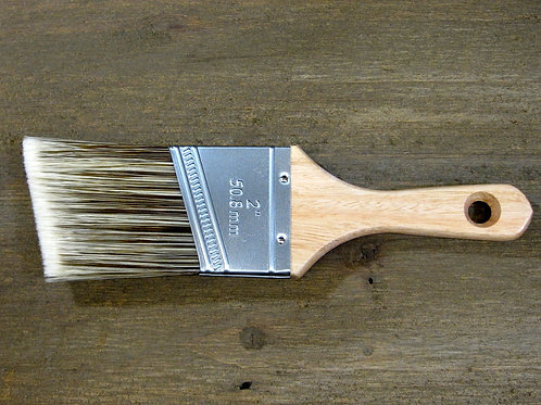 ChalkPro Plush Shorty Angled Paint Brush- 2 inch