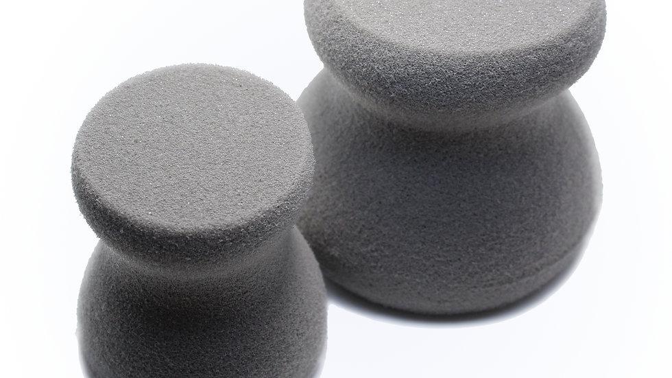 Large Round Paint Sponges - Set of 2