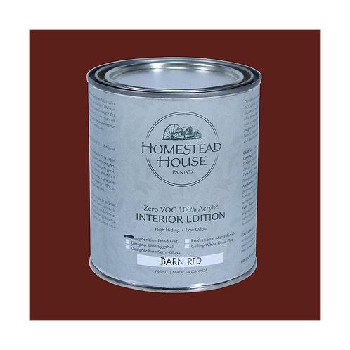 Homestead House Furniture Paint - Dead Flat - Barn Red - 946ml