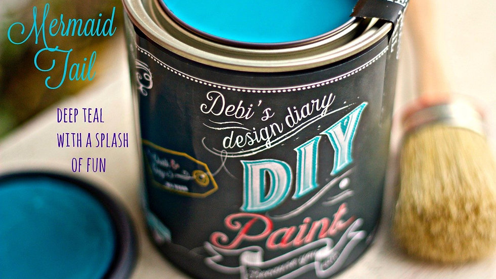 Debi's DIY Paint - 8oz - Mermaid Tail