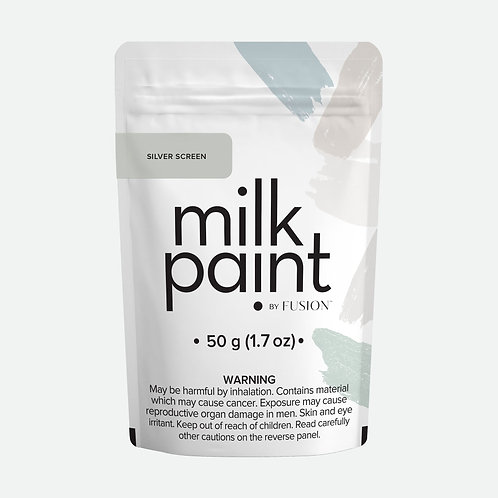 Milk Paint by Fusion - 50g sample - Silver Screen