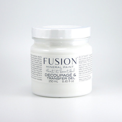 Fusion Decoupage and Transfer Gel - 250ml