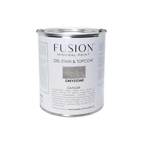 Fusion Gel Stain & Topcoat - 946ml - Greystone