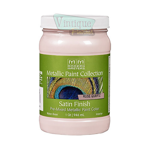 Modern Masters Metallic Rose Quartz Satin Finish 32oz.