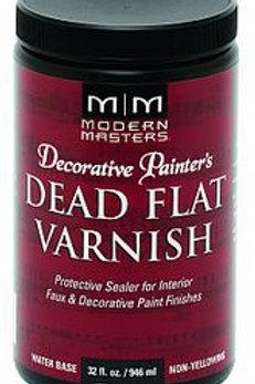 Modern Masters Dead Flat Varnish 32oz