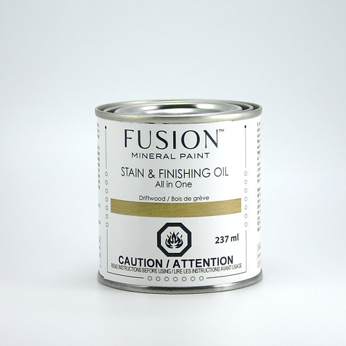Fusion Stain and Finishing Oil - Driftwood - 237ml