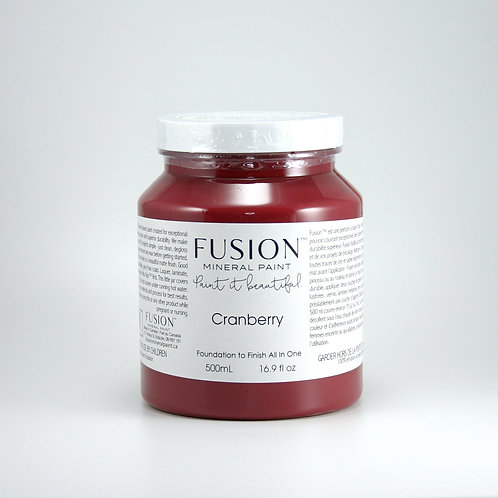 Fusion Mineral Paint - 500ml - Cranberry