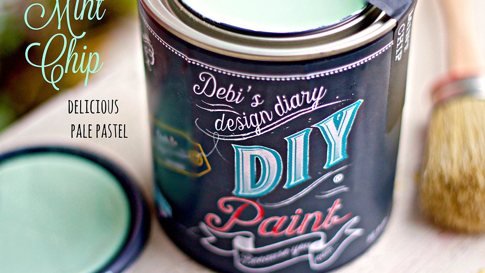 Debi's DIY Paint - 8oz - Mint Chip
