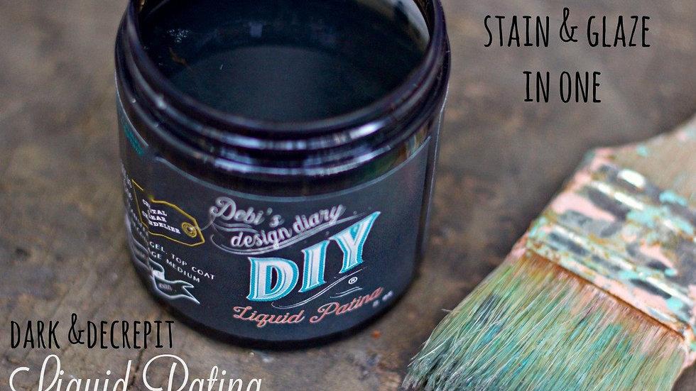 Debi's DIY Liquid Patina - Dark and Decrepit - 16oz