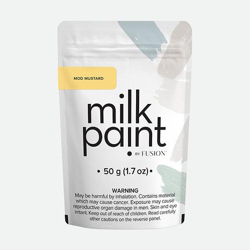 Milk Paint by Fusion - 50g sample - Mod Mustard
